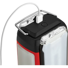 Coleman Dual Panel Lanterne, black/red